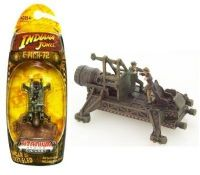 Indiana Jones: Hanger 51 Rocket Sled - Titanium Series Die-Cast Model